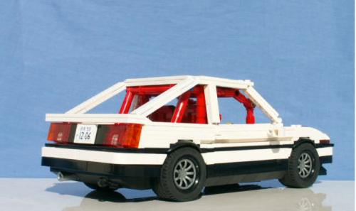 Lego Toyota AE86