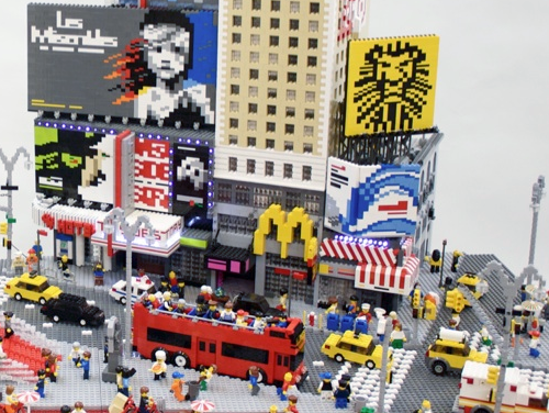 Lego Times Square New York