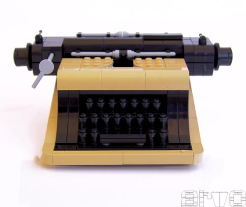 Lego Type Writer