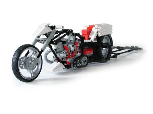 Lego Top Fuel Drag Racer