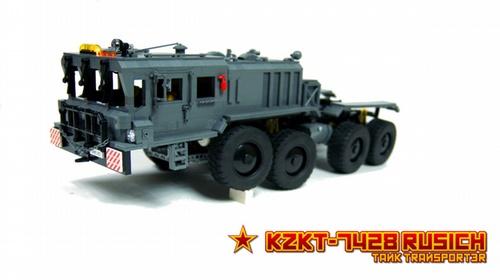 Lego Rusich Tank Transporter