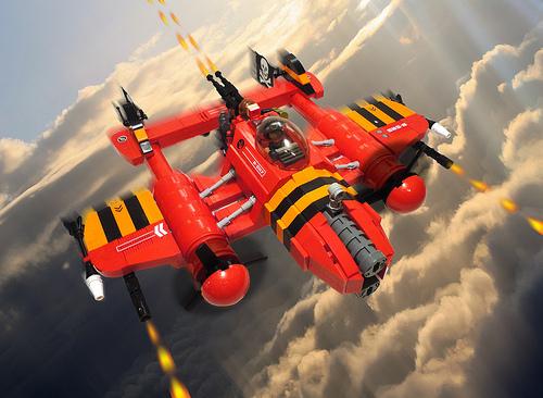 Sky Pirates! Lego