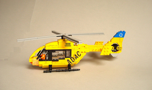 Lego Helicopter Air Ambulance