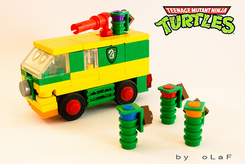 Lego Teenage Mutant Hero Turtles