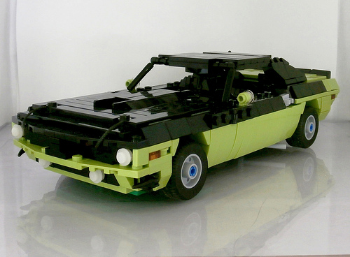 Lego Plymouth Barracuda