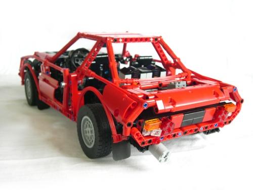 Lego Technic Lancia Fulvia