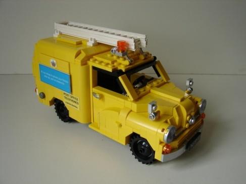 Lego Morris Minor Van