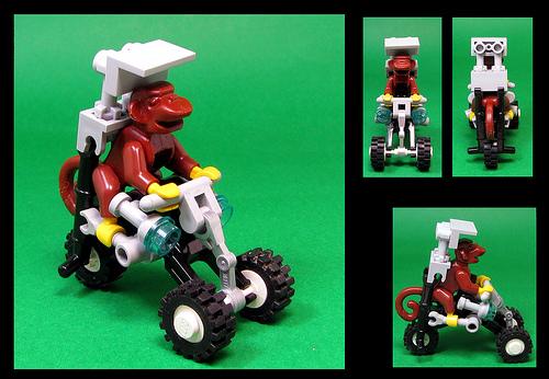 Lego Monkey Trike
