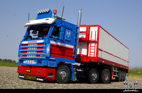 Lego Scania 143 Truck