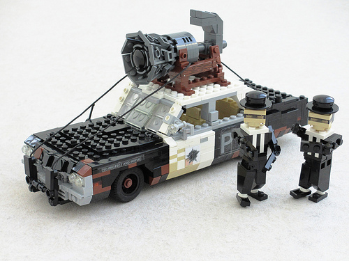 how to build a lego machine gun for d day