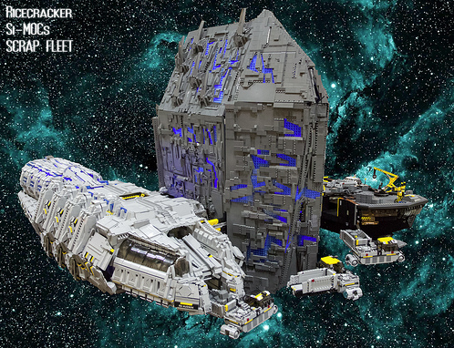 Lego Space Ship Yard