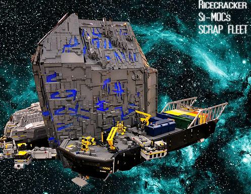 Lego Spaceship Salvage