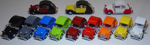 Lego 2CVs