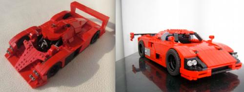 Lego Le Mans Racers