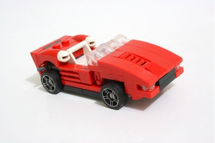 Lego Red Roadster