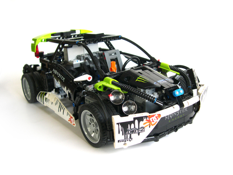 lego technic ford fiesta wrc the lego car blog. Black Bedroom Furniture Sets. Home Design Ideas
