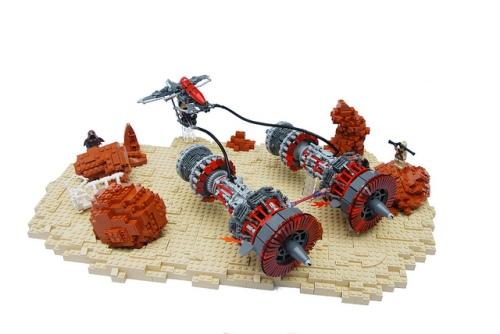 Lego Star Wars Pod Racer