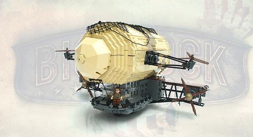 Lego Bioshock Infinite Airship