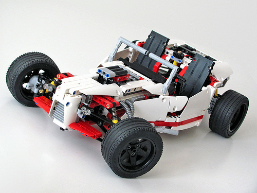Lego 42000 Hot Rod
