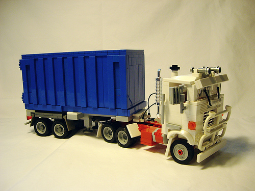 Lego Mack Container Truck