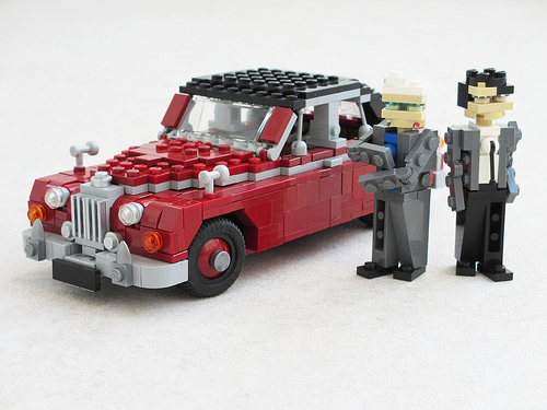 Lego Jaguar Mark 2