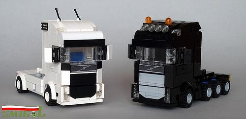 Lego Volvo Trucks Swedish Twins