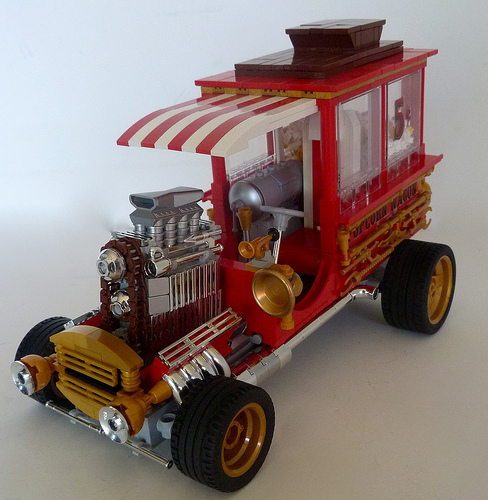Lego Hot Rod Popcorn Waggon