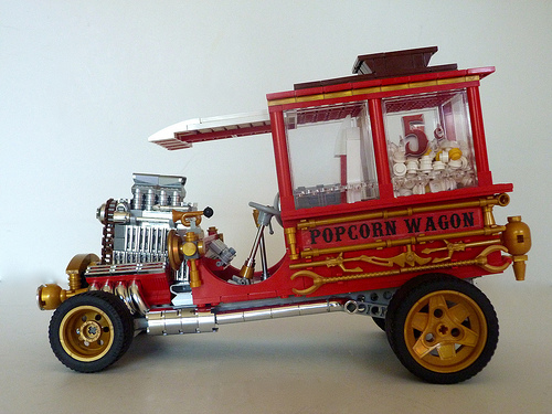 Lego Hot Rod Popcorn Wagon