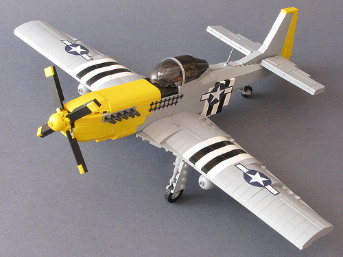 Lego P-51 Mustang