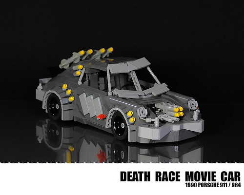 how to make a simple lego race car