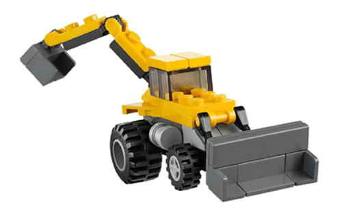 31005 Construction Hauler Set Review The Lego Car Blog