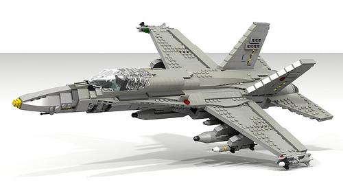 Virtually real digital special the lego car blog - Avion de chasse en lego ...