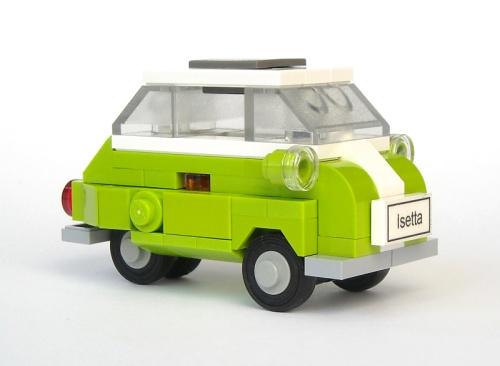 Lego BMW Isetta Bubble Car
