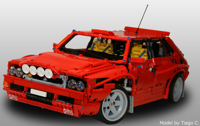 New Ford Pantera >> Lego Lancia Delta Integrale | THE LEGO CAR BLOG