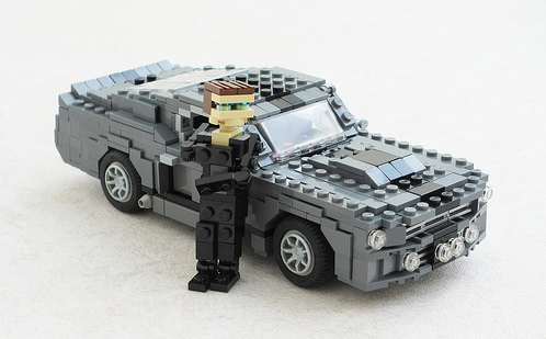 Ford Mustang GT500 'Eleanor' Lego