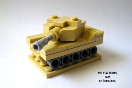 Tiny Tank   THE LEGO CAR BLOG