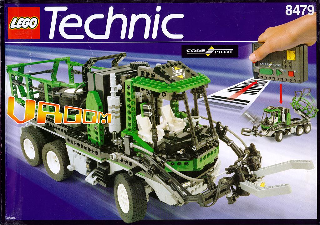 8479 technic barcode truck review the lego car blog. Black Bedroom Furniture Sets. Home Design Ideas