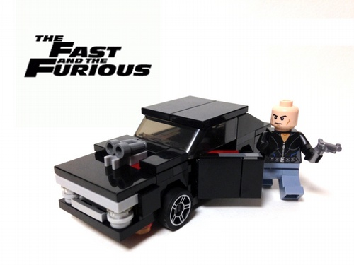 Lego The Fast and The Furious Charger