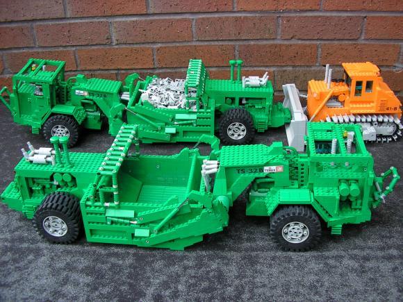 Lego Grader