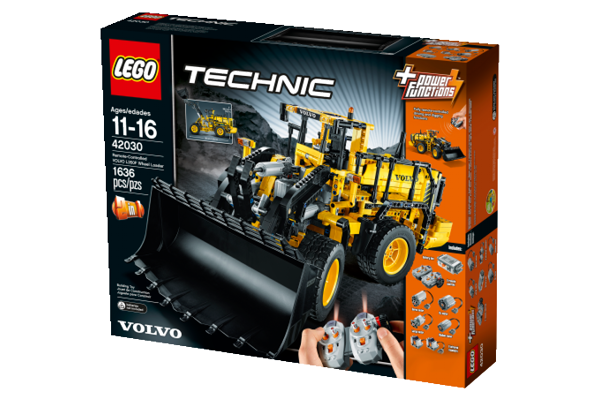 lego technic 42030 volvo the lego car blog. Black Bedroom Furniture Sets. Home Design Ideas