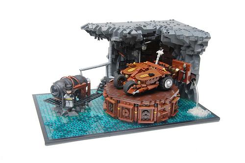 Lego Steampunk Batcave