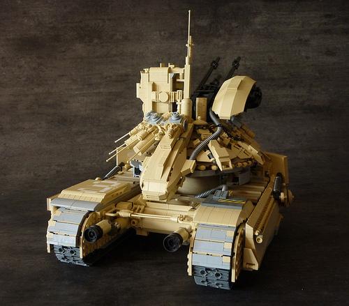 Lego Anti-Aircraft Gun