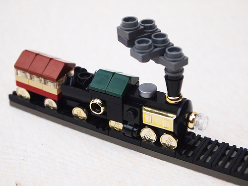 Steam Train The Lego Car Blog