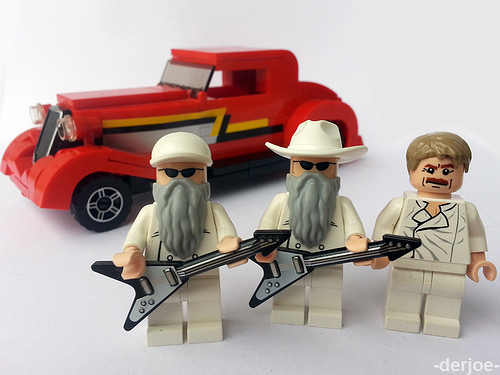 Image result for zz top lego