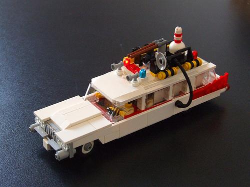 lego ecto1 ghostbusters the lego car blog. Black Bedroom Furniture Sets. Home Design Ideas