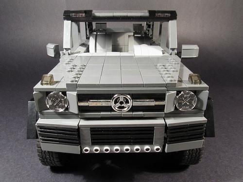 Lego Mercedes-Benz G-Class 6x6