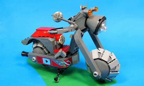Lego Space Scooter Vespa