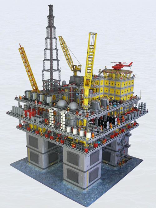 Lego Oil Rig Platform