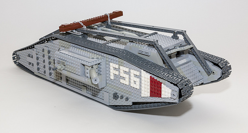 Lego Mark IV Tank