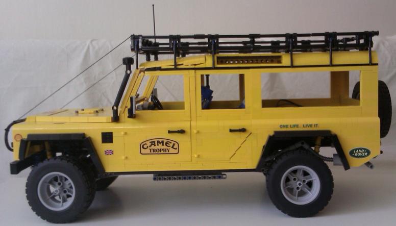 Camel Trophy Yellow Paint Code Rc Car